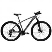 Bicicleta 29 Lotus ALUMINIUM 21v Cinza/Preto