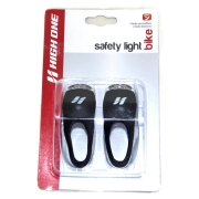 Kit Pisca Diant. e Tras. High One 2 LED Silicone