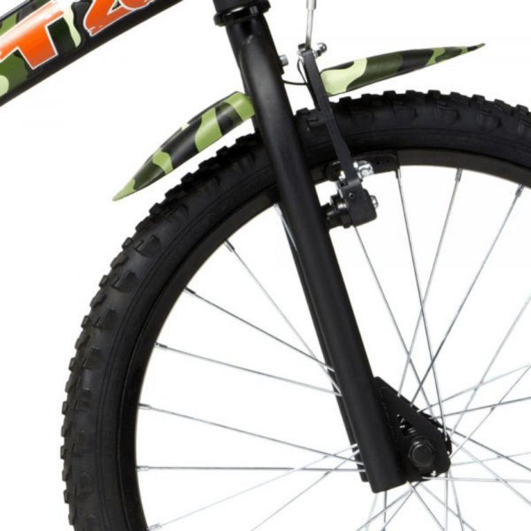 Bicicleta GROOVE aro 20 CAMUFLADA T20 - Preto/Verde
