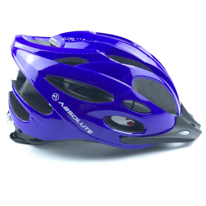 Capacete Absolute NERO c/ led - Azul