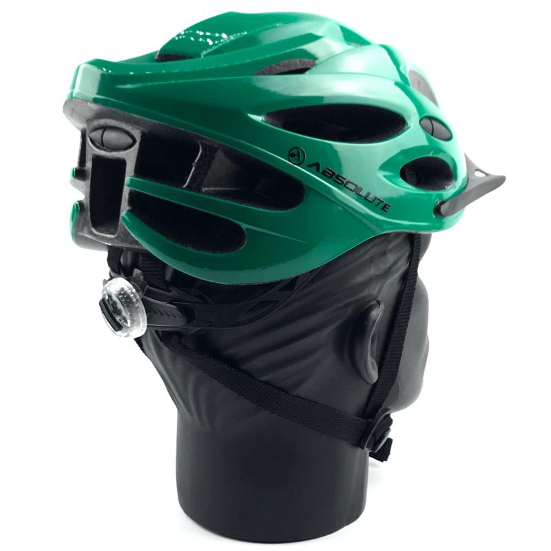 Capacete Absolute NERO c/ led - Verde