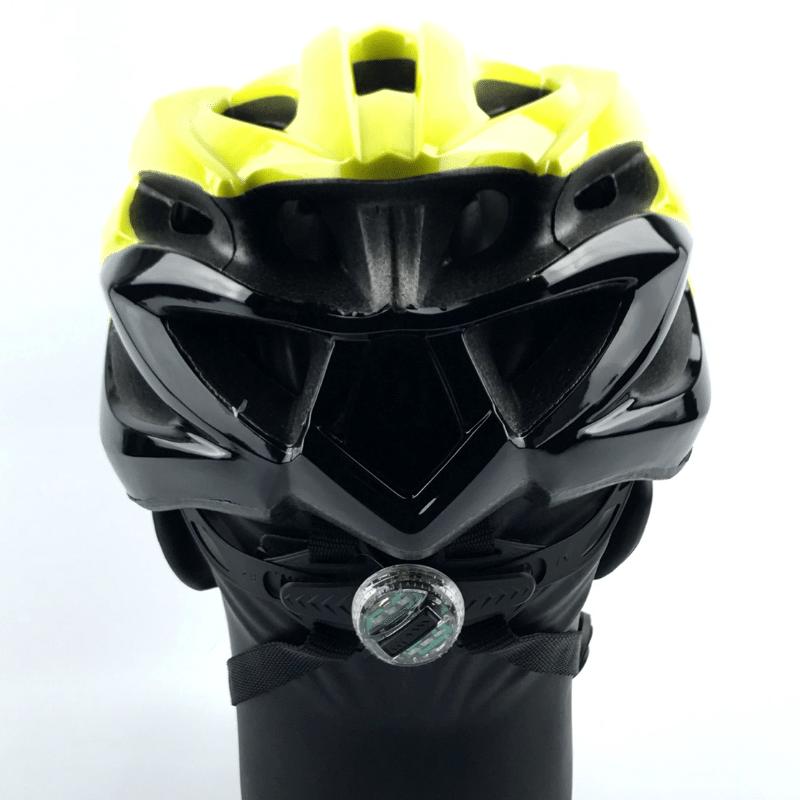 Capacete Absolute WILD c/ Led - Amarelo/Preto