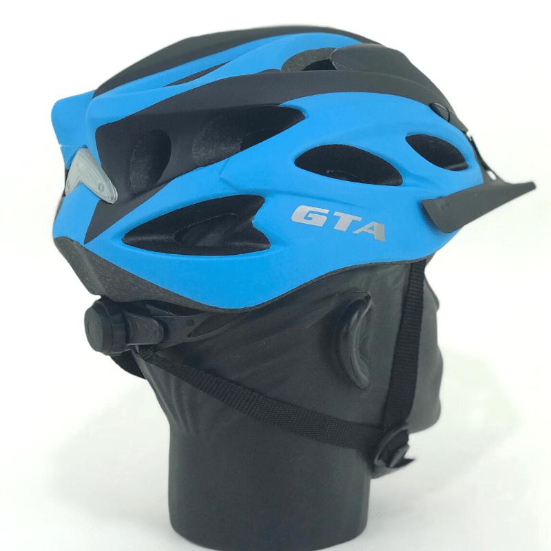 Capacete GTA inmold c/ led - Azul/Preto