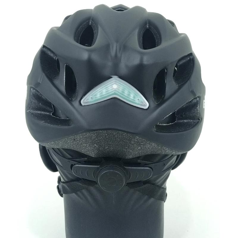 Capacete GTA inmold c/ led - Preto