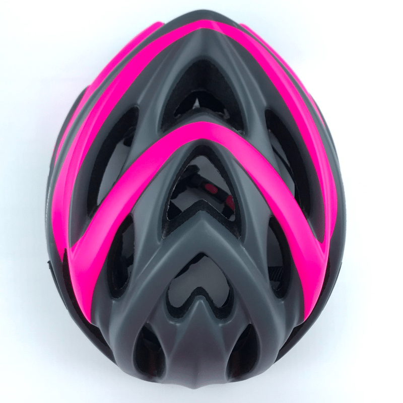 Capacete High One VOLCANO NEW c/ Led - Cinza/Rosa