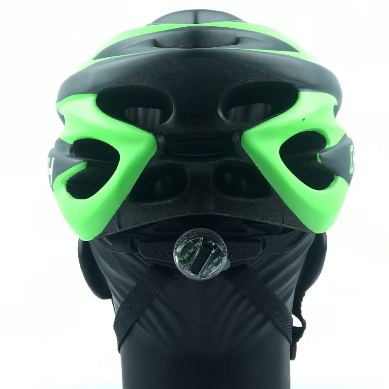 Capacete High One VOLCANO NEW c/ Led - Cinza/Verde
