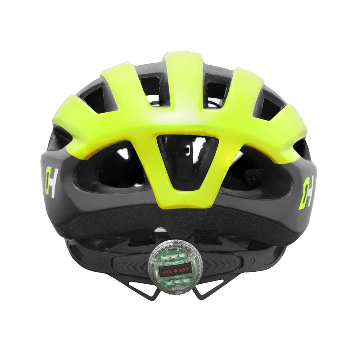 Capacete High One WIND AERO Mtb/Speed - Preto/Verde Neon