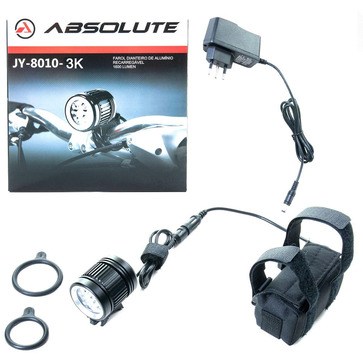 Farol Absolute JY-8010-3K - 3000 lumens