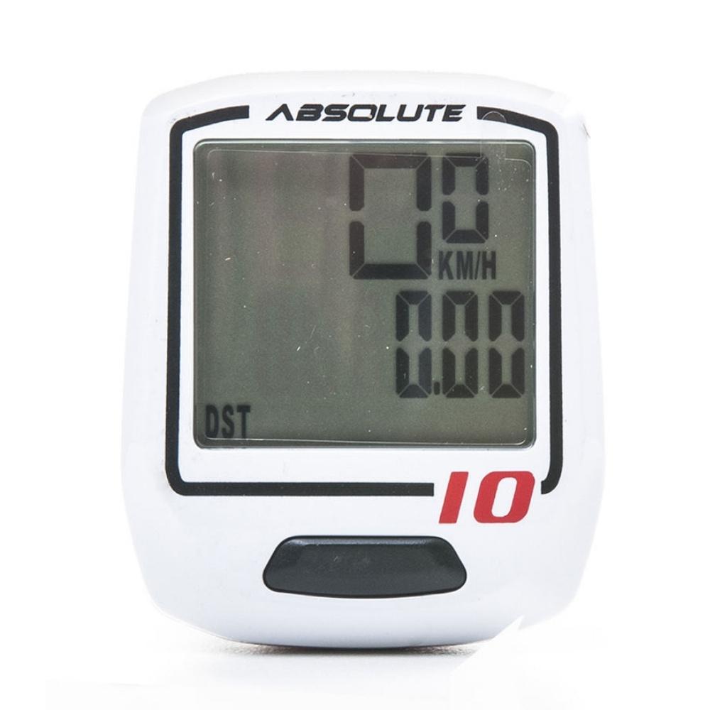 Velocimetro Absolute IRIX 10 c/ fio Branco