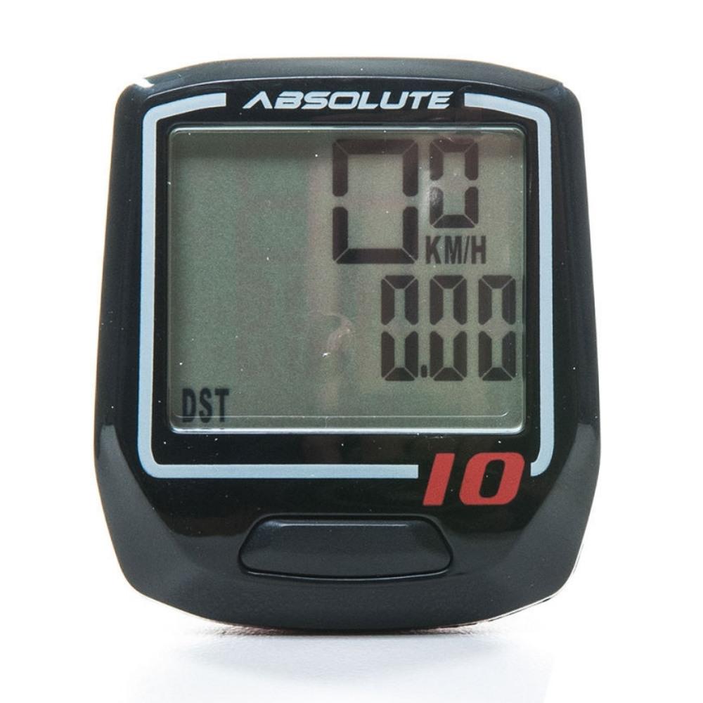 Velocimetro Absolute IRIX 10 c/ fio Preto
