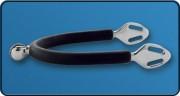Espora Stubben (1150) Steel Tec com Roseta de 15mm