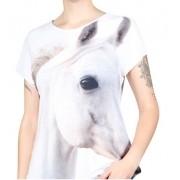 Blusa Evasê Cavalo Árabe