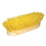 Escova Nylon Amarela Cerdas Rígidas