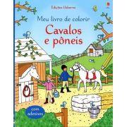 Livro Cavalos e Pôneis - Meu Livro de Colorir