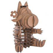 Quebra Cabeça 3D - Cavalinho com Flor