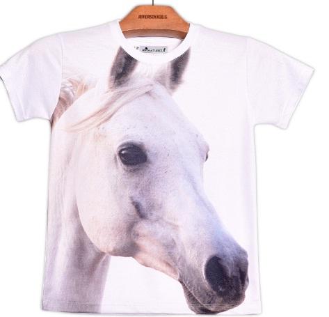 Camiseta Infantil Cavalo Árabe