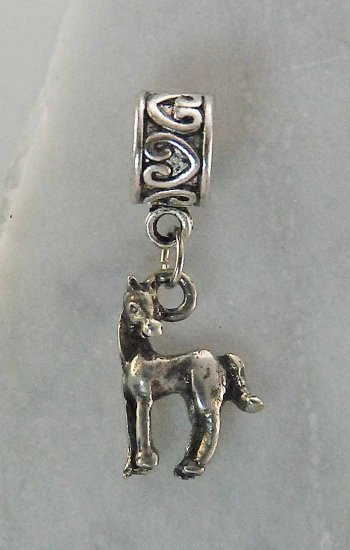 Pingente Cavalo de Lado JOP4001