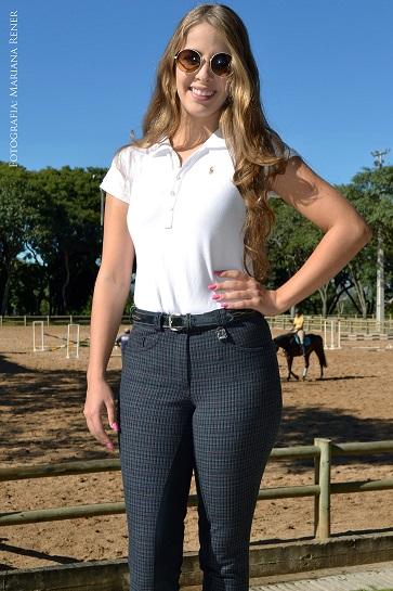 Culote Cavallus Feminino Full Seat Xadrez