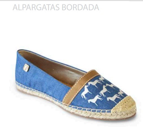 Alpargata Bordada