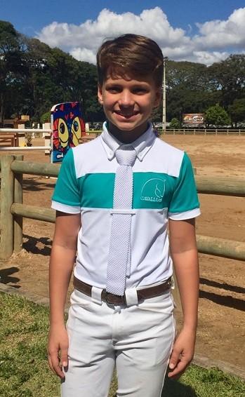 Camisa de prova Infantil Cavallus