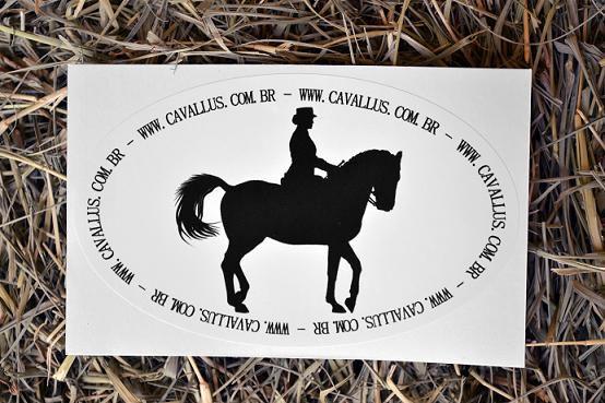 Adesivo Adestramento Cavallus
