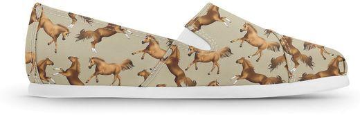 Alpargata Usthemp Slim Temática-Cavalo Crioulo