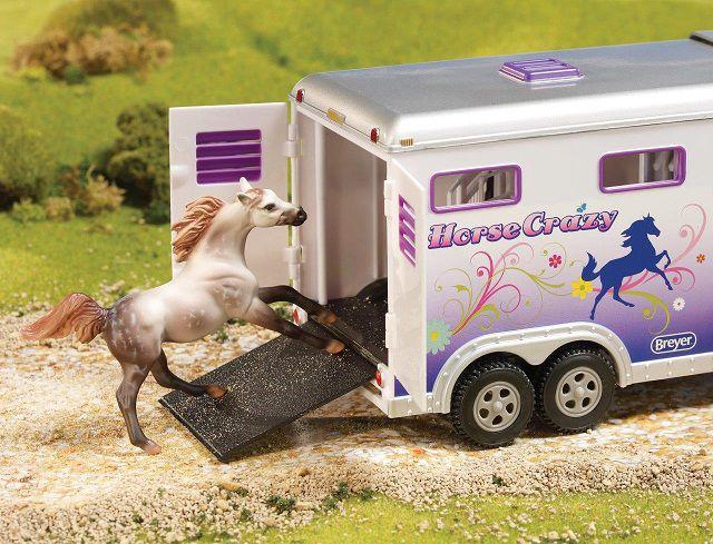 Breyer Horse Crazy Caminhonete e Trailer