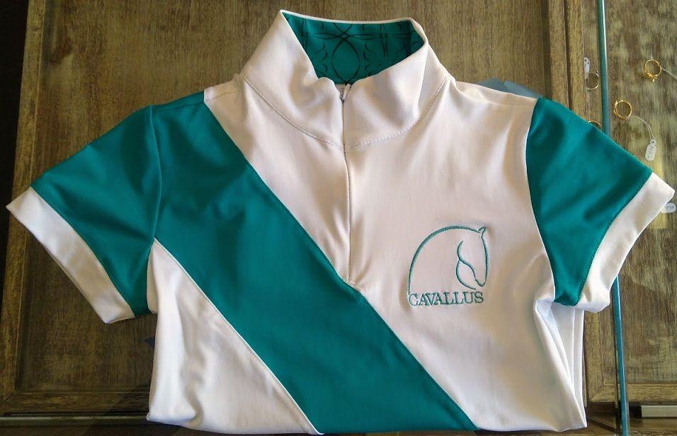 Camisa de Prova Feminina Infantil Cavallus