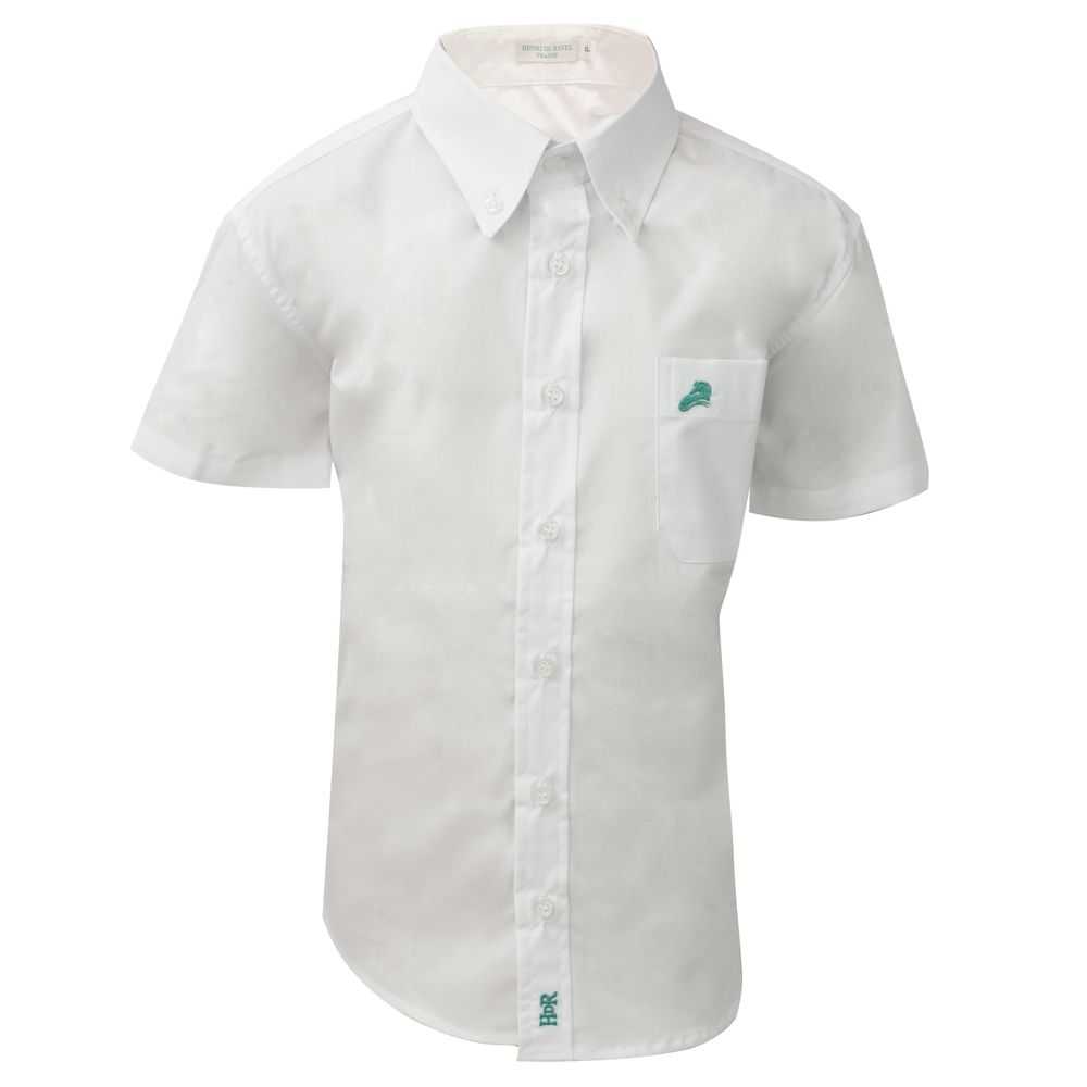 Camisa de Prova Masculina Infantil Mangas Curtas