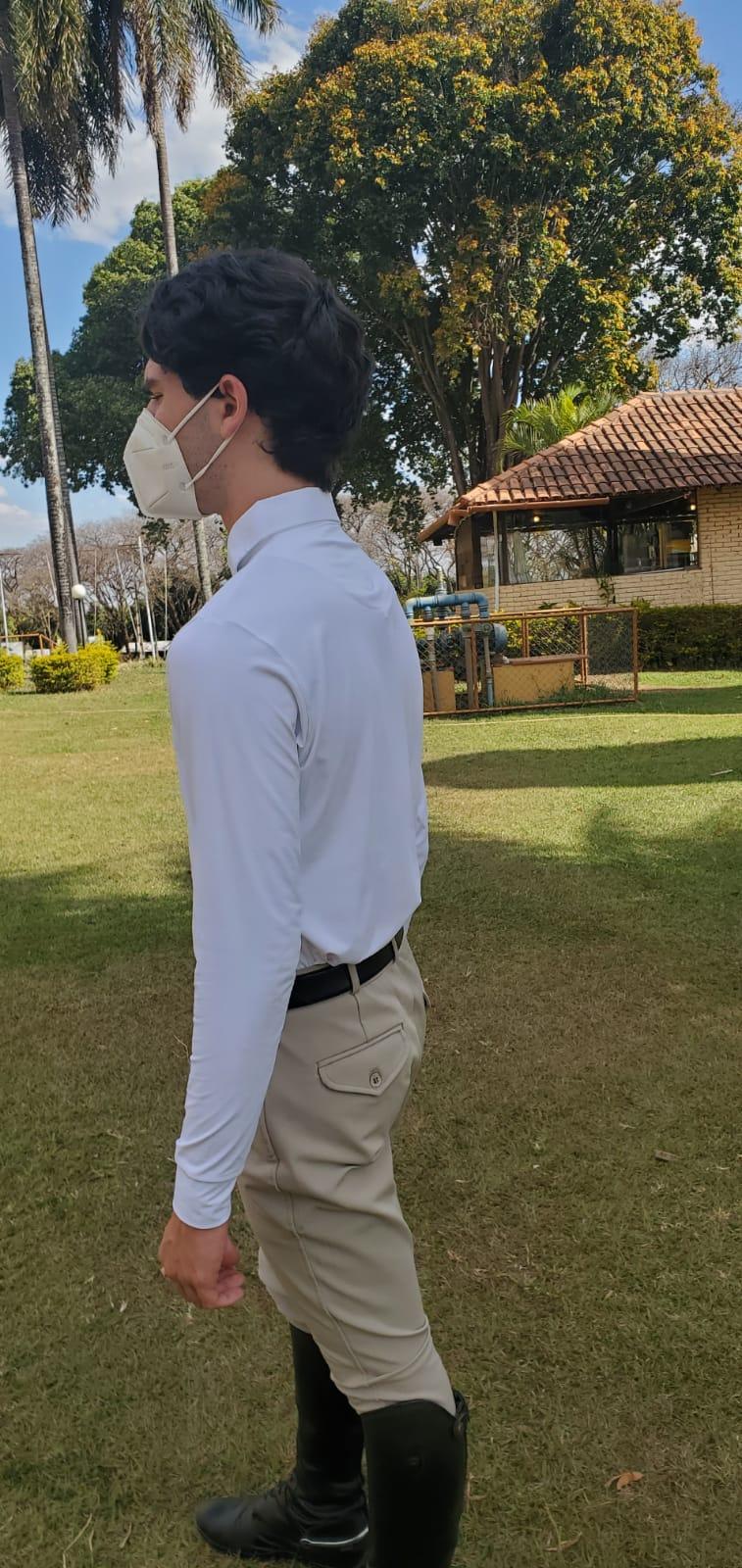 Camisa de Prova ML Masculina Cavallus