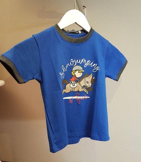 Camiseta infantil Show Jumping