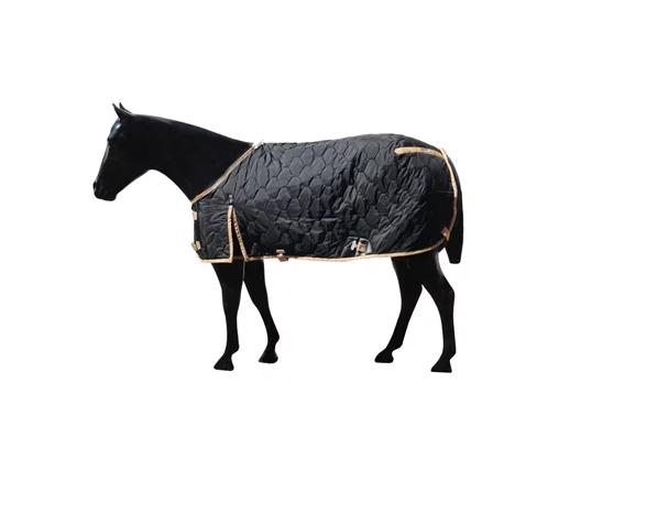 Capa de Frio para Cavalo Forrada Aberta no Peito Premium