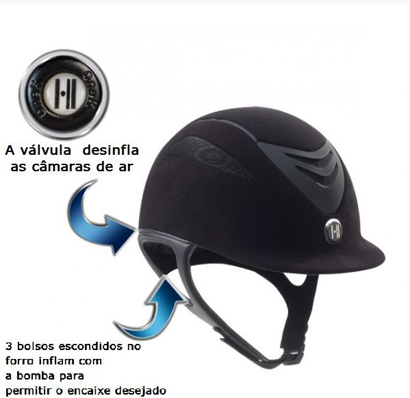 Capacete OneK - Defender Air