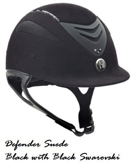 Capacete OneK - Defender Suede Swarovski