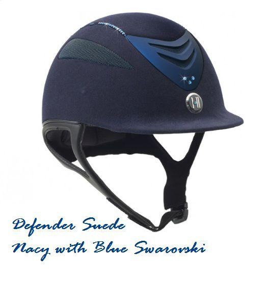 Capacete OneK™ Defender Suede Swarovski
