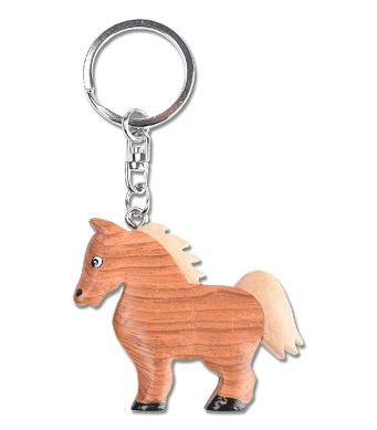 Chaveiro Cavalo em Madeira