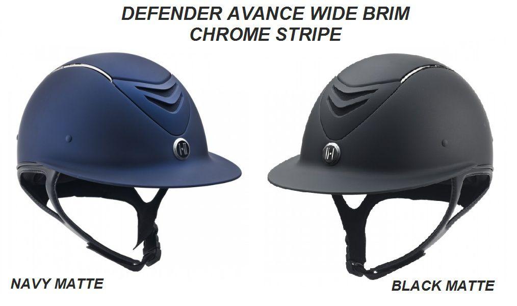 Capacete OneK™ Avance Wide Brim Chrome Stripe