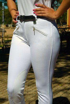 Culote Cavallus Feminino 2 bolsos com zíper