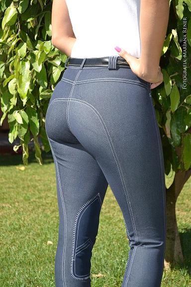 Culote Cavallus Feminino Jeans Bolso Tradicional