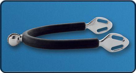 Espora Stubben Steel Tec com Roseta de 15mm