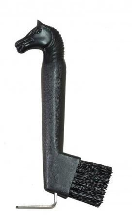Limpador de Casco com Escova cabeça de cabalo