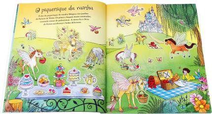 Livro - Pôneis Mágicos - Meu Livro de Adesivos
