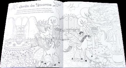 Livro - Pôneis Mágicos - Meu Livro de Colorir