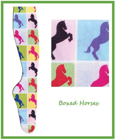 Meias Boxed Horses