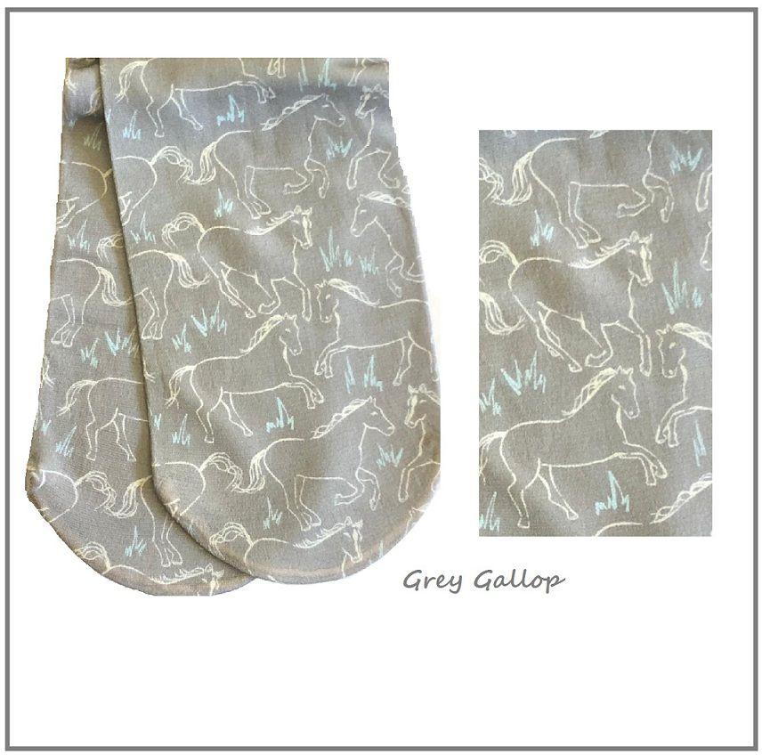 Meias Grey Gallop