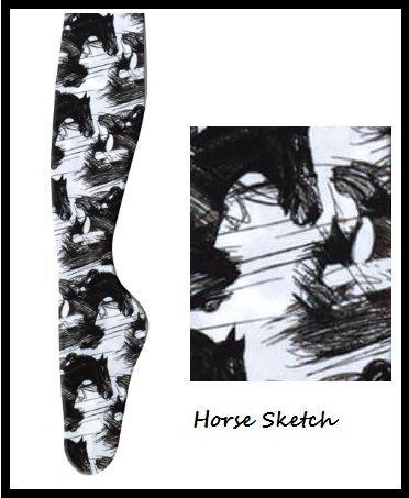 Meias Horse Sketch