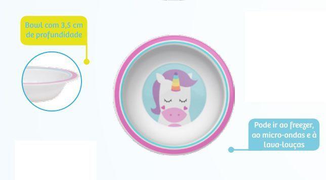 Pratinho Bowl Animal Fun - Unicornio