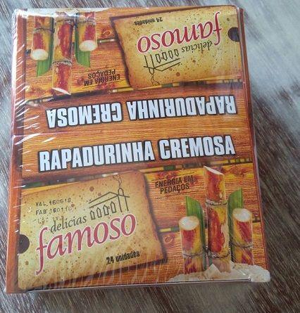 Rapadura Cremosa - Caixa com 24 Unidades
