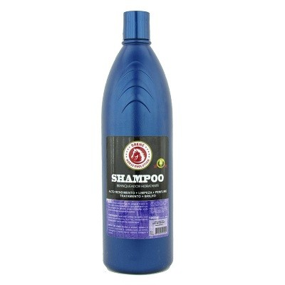 Shampoo Branqueador Hidratante para Cavalo