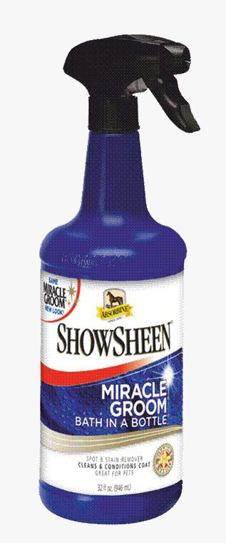 ShowSheen Miracle Groom 946ml Absorbine